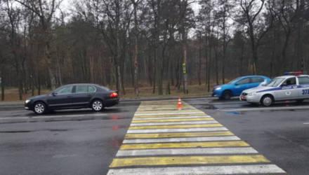 За сутки в Гомеле и области произошло четыре ДТП с участием пешеходов