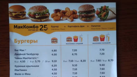 В Гомеле сегодня открыли «МакДональдс». Что там с ценами?