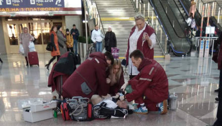 Гомельчанин: На ж/д вокзале в Минске умер мужчина