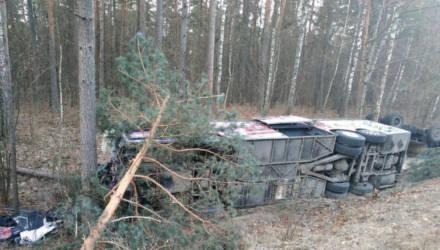 В ГАИ рассказали подробности столкновения грузовика и автобуса в Речицком районе: шестеро пострадавших доставлены в больницу