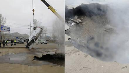 Жуть: в Пензе автомобиль провалился в яму с кипятком – два человека сварились заживо