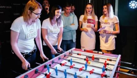 «Вите надо выпить». Девушки из Гомеля заняли третье место в турнире по настольному футболу Kicker Grant's Party