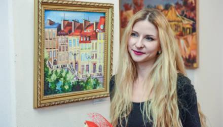 Выставка живописи Ольги Копачёвой «Art прогулка» открылась в Гомеле