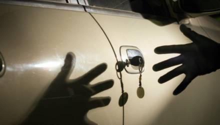 В Мозыре задержан гомельчанин, который пытался угнать два автомобиля