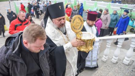Икона с частицей мощей блаженной Матроны Московской прибыла в Гомель