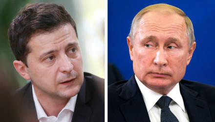 Назарбаев предложил организовать встречу Путина и Зеленского