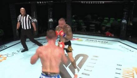 Нокаут года? Французский боец с вертушки вырубил ветерана UFC