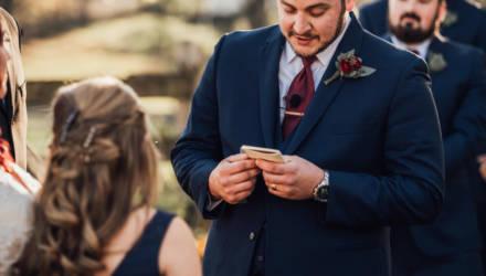 Жених довёл до слёз гостей свадьбы, поклявшись в любви, но не невесте