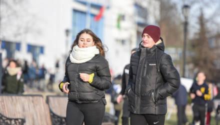 В Гомеле состоялся легкоатлетический пробег, посвящённый годовщине освобождения города от немецко-фашистских захватчиков