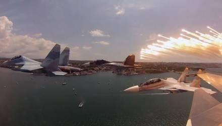 Что могут истребители Су-30СМ, которые завтра поступят в Беларусь – видео