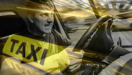 Разборки таксистов в Гомеле: в ход пошёл газовый балончик