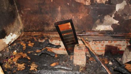 Мать и сын погибли на пожаре в Гомельском районе