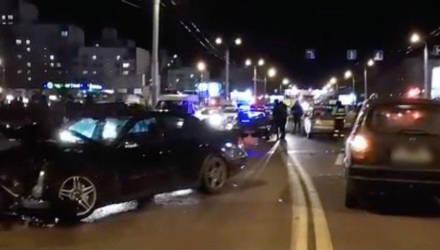 В Гомеле ДТП с участием четырёх автомобилей парализовало движение Речицком проспекте