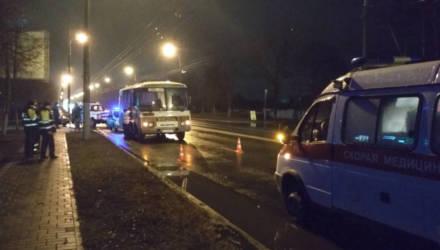 В Гомельской ГАИ рассказали подробности смертельного наезда автобуса на пьяного мужчину