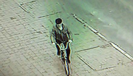 Внимание, розыск! В Гомеле мужчина с усами и в кепке угнал чужой велосипед