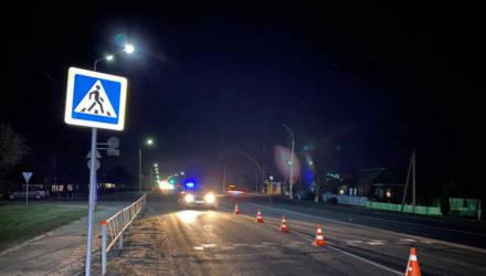 Под Гомелем на пешеходном переходе сбили девушку: она в реанимации