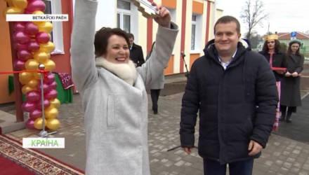 В подарок к Новому году школьники Ветковского района получили практически новую школу