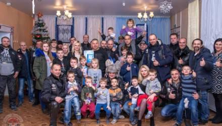 """Гомельские байкеры с друзьями провели благотворительную акцию """"Железная Ёлка – 4"""""""