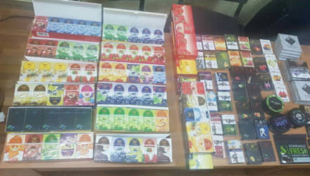 У гомельчанина изъяли 12,5 кг табака для кальяна стоимостью более 9.000 рублей