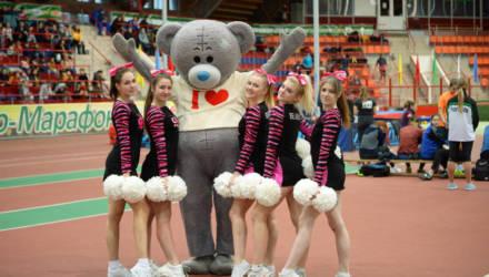 """Международный легкоатлетический фестиваль """"Снежная рысь"""" прошёл в Гомеле"""