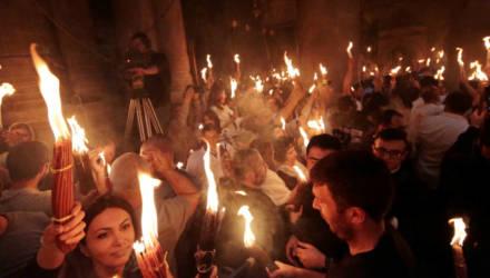 21 декабря в Гомель доставят Вифлеемский огонь