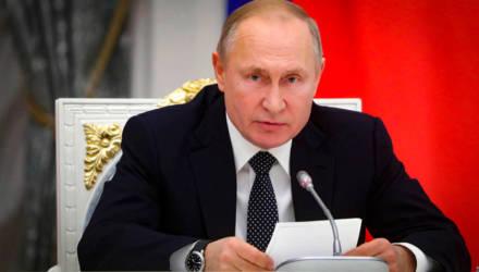 Путин счёл беспардонной ложью резолюцию Европарламента о Второй мировой войне