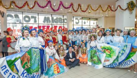 Главная ёлка Гомельской области собрала 1350 ребят со всего региона
