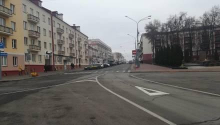 С 17 декабря будет изменена организация дорожного движения по ул. Коммунаров в Гомеле