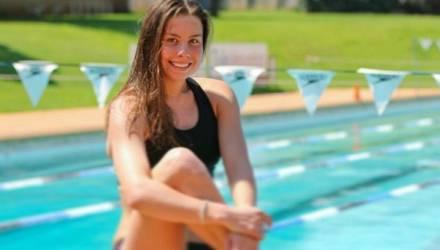 Пловчиха Алина Змушко — о заплывах со сломанными пальцами, детстве в Калинковичах, работе над собой и завоевании олимпийской лицензии