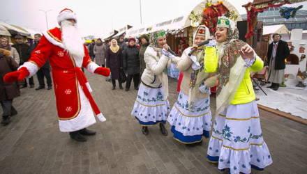 В Гомеле проходят ярмарки выходного дня по продаже товаров к Новому году и Рождеству