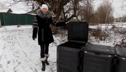 Экологический проект: в деревне Севруки под Гомелем листву не сжигают, а создают качественное удобрение