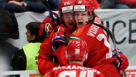 Сборная России по хоккею всухую разгромила канадцев на молодёжном чемпионате мира в Чехии