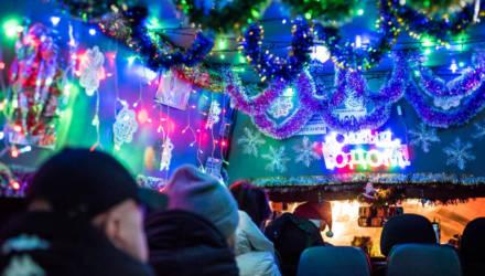 Следующая остановка – «Новогодняя». По Гомелю ездит праздничная маршрутка и поднимает всем настроение