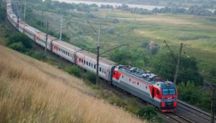 Сегодня из Гомеля в Новозыбков начали ходить поезда международных линий