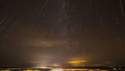 Погода, не подведи! Самый мощный метеорный поток смогут увидеть белорусы