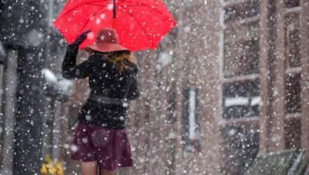 Возможен дождь, возможен снег, возможно, это не зима. Погода в Гомеле на неделе