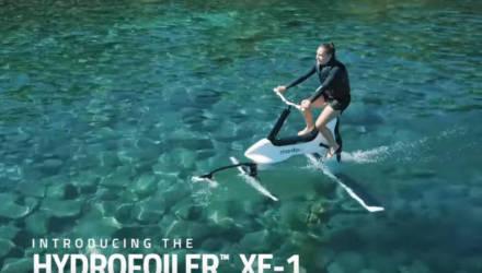 Инженеры показали новый способ передвижения по воде (видео)
