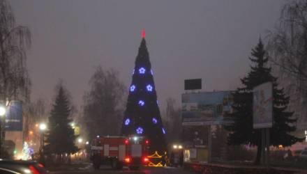 В Гомеле едва не загорелась третья новогодняя ёлка – успели вовремя отключить