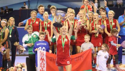 Белоруски впервые стали чемпионками Европы по индорхоккею