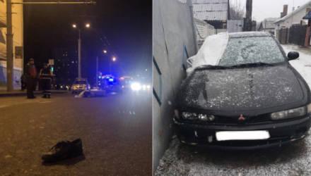 Водителя «Митсубиши», который насмерть сбил пешехода в Гомеле и скрылся, нашли и задержали в Добрушском районе