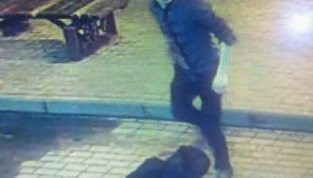 Устанавливается личность неизвестного, который повредил окно в магазине по проспекту Ленина в Гомеле