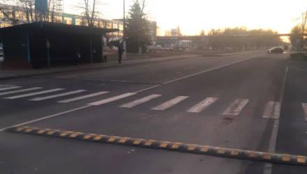 Приподнятый пешеходный переход появился в Светлогорске