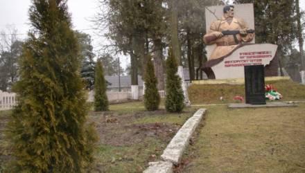 Злоумышленники похитили туи у памятника партизанскому движению в Чёнках