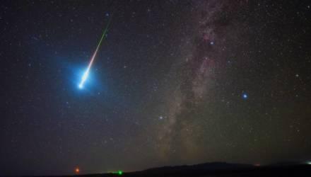 Первый звездопад 2020 года белорусы смогут увидеть в ночь с 3 на 4 января