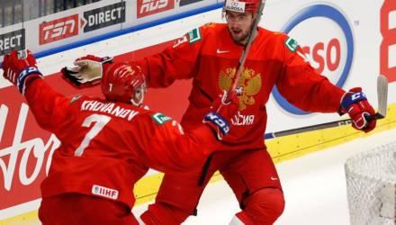 Сборная России вышла в финал молодёжного ЧМ по хоккею
