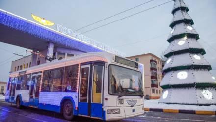В ночь на Рождество гомельский городской транспорт будет ходить по специальному расписанию