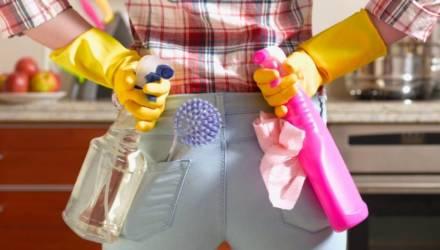 Гомельский врач рассказала о безопасном использованим бытовой химии и народных альтернативах