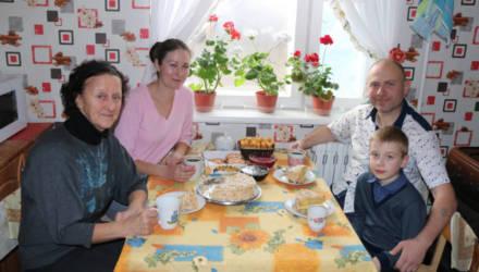 Семья украинских переселенцев обрела новую родину на Рогачёвщине