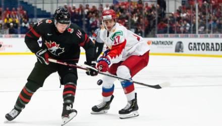 Сборная России стала серебряным призёром молодёжного ЧМ по хоккею