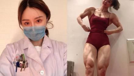 Девушка-врач, покорившая Instagram своими мускулами, доказала, что она сильна как снаружи, так и внутри
